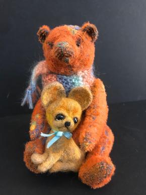 Medvídek s kamarádem - Nadja Uibopuu